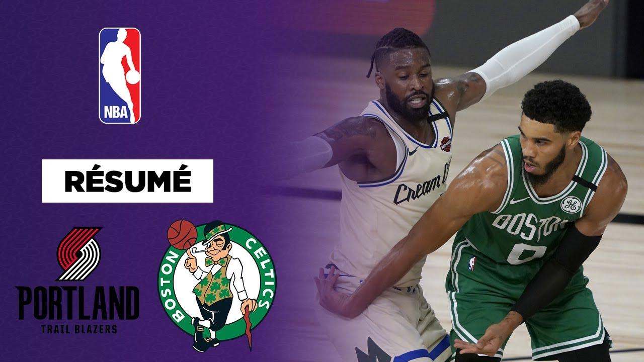Résumé : Boston s'offre Portland dans une fin de match épique !