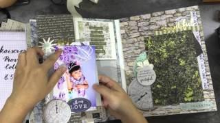 手工相冊Scrapbook album Kaiser craft big album (國語)