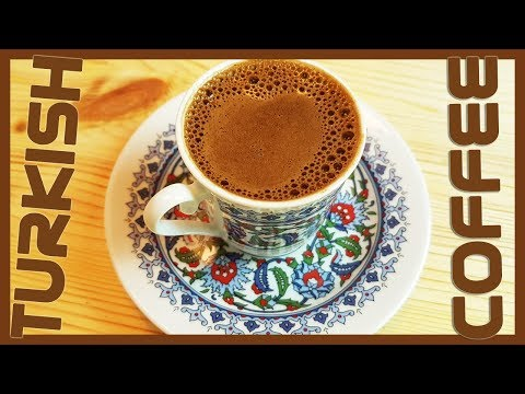 How to Make Turkish Black Coffee | Turkish Coffee Recipe