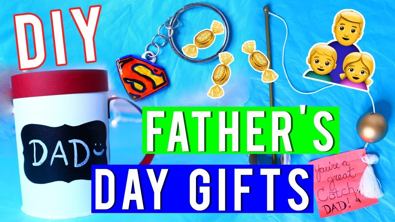 Fathers Day 2017 Gifts Part - 41: DIY Fatheru0027s Day Gift Ideas! 2017