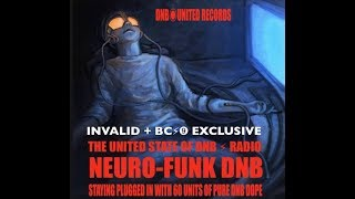 INVALID + BC#9 NEUROFUNK DNB VIDEO /THE UNITED STATE OF DNB  MIX  BC⚡︎➒