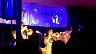 Aidan Knight & the Friendly Friends - Knitting Something Nice live at Coldsnap 2011