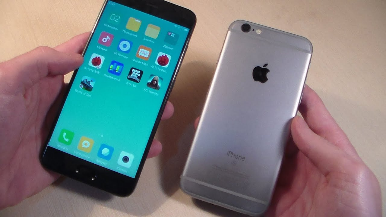 Mi 6 vs iphone 6s
