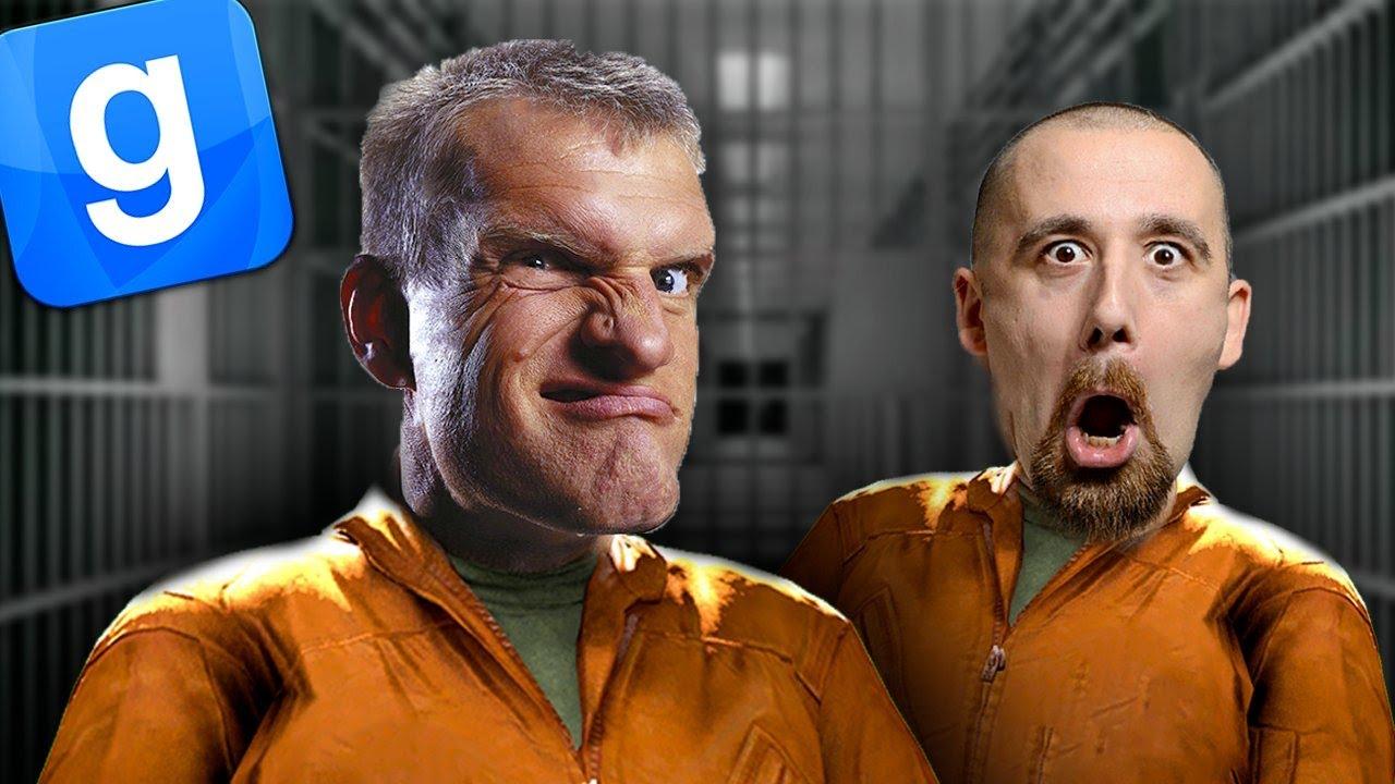 LA PRISON DES PSYCHOPATHES - GARRY'S MOD PRISON RP