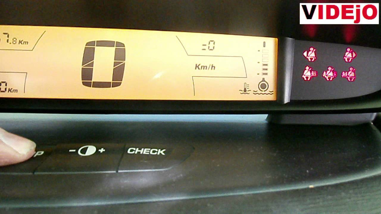 Citroen C4 Service Interval Reset Funnycat Tv