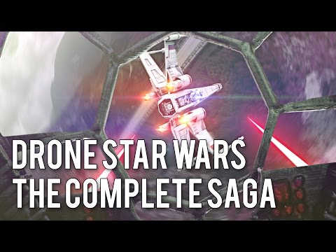 Re-Creating Star Wars with Drones!