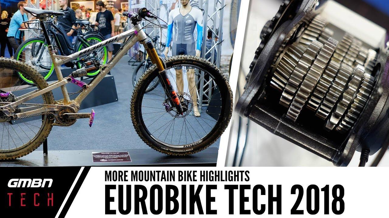 99f31b2167b The Future Of Mountain Bike Tech At Eurobike 2018 - YouTube