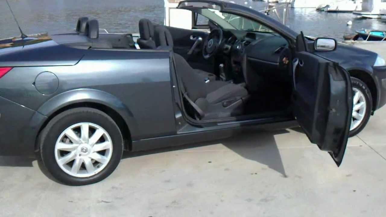 2008 renault megane 1 6 vvt dynamic cabriolet lhd for sale in spain youtube. Black Bedroom Furniture Sets. Home Design Ideas
