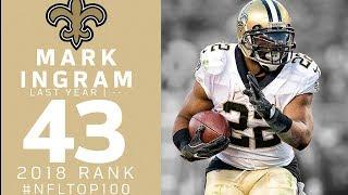 #43: Mark Ingram (RB, Saints) | Top 100 Players of 2018 | NFL