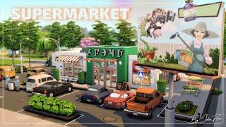 Супермаркет🛒🍅│Строительство│Supermarket│SpeedBuild│NO CC [The Sims 4]