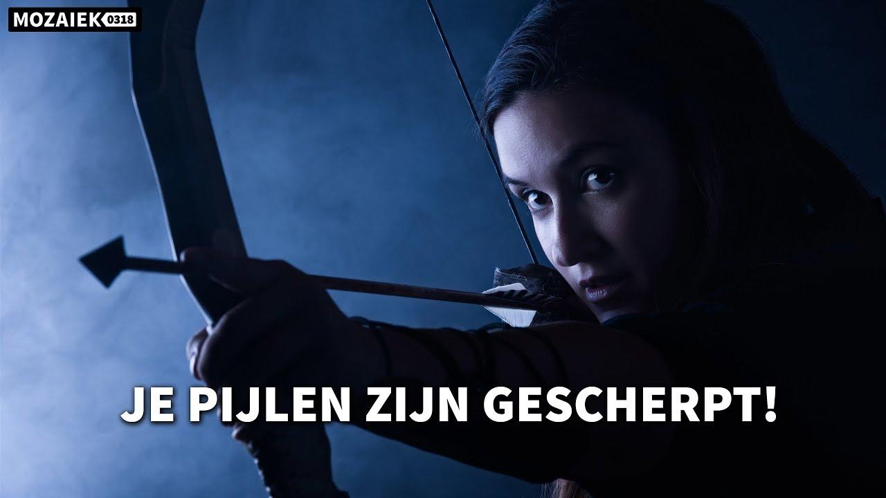 Preek: Je pijlen zijn gescherpt! -  Esther Vorsterman