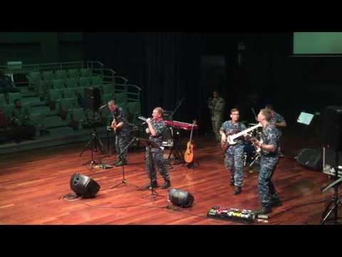 Assalamualaikum Ustazah performed by US pacific fleet band in UNIMAS, SARAWAK