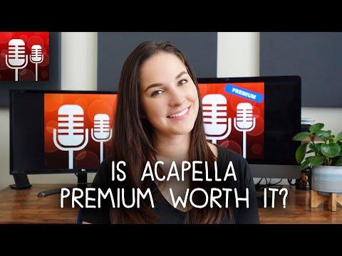 Acapella App Premium