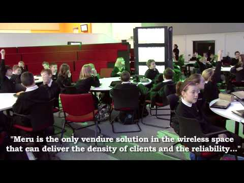 Enabling 21st Century Learning with Prodec Networks and Meru Networks