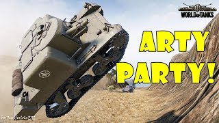 World of Tanks - Funny Moments | ARTY PARTY! #38