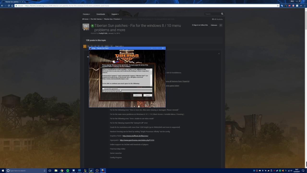Tiberian sun downloads: finalsun, sunedit2k, 8 player patch, map.