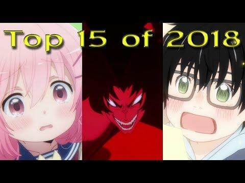 TOP 15 ANIME OF 2018
