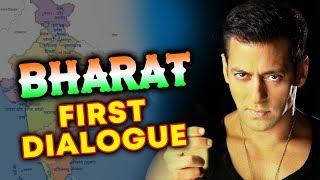 Salman Khan's BHARAT Movie First Dumdar Dialogue Will Create Goosebumps