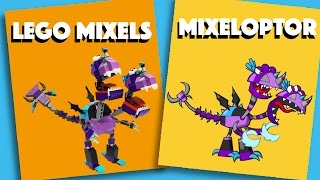 LEGO Mixels - Mixeloptor - Stop Motion Build (How to Build)