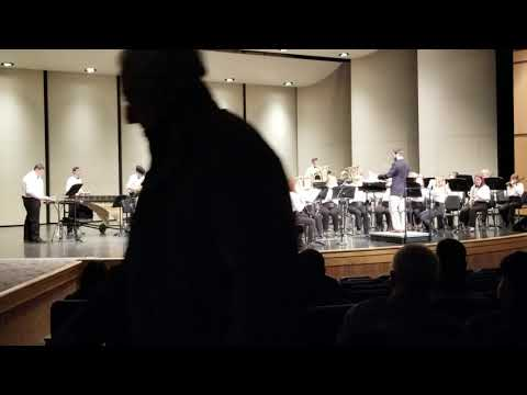 Parchment High School band pre competition - Plainwell, MI