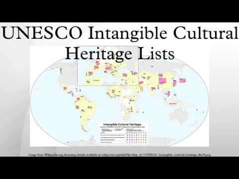 UNESCO Intangible Cultural Heritage Lists