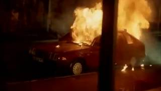 За последней чертой (1991) - car crash scene