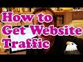 How to Get Traffic To Your Website - Spend Time or Money?
