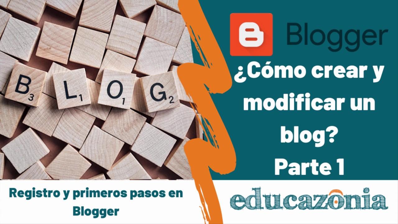 BLOGGER 2020. ? Cómo crear un blog en BLOGGER paso a paso [Parte 1]. Cómo REGISTRARSE en BLOGGER
