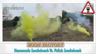 ★ BooM Factory (Homemade Smokebomb Vs. Polish Smokebomb│TXF652-3)