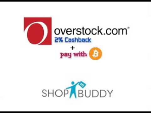 2% Cashback At Overstock.com + Pay With Bitcoin