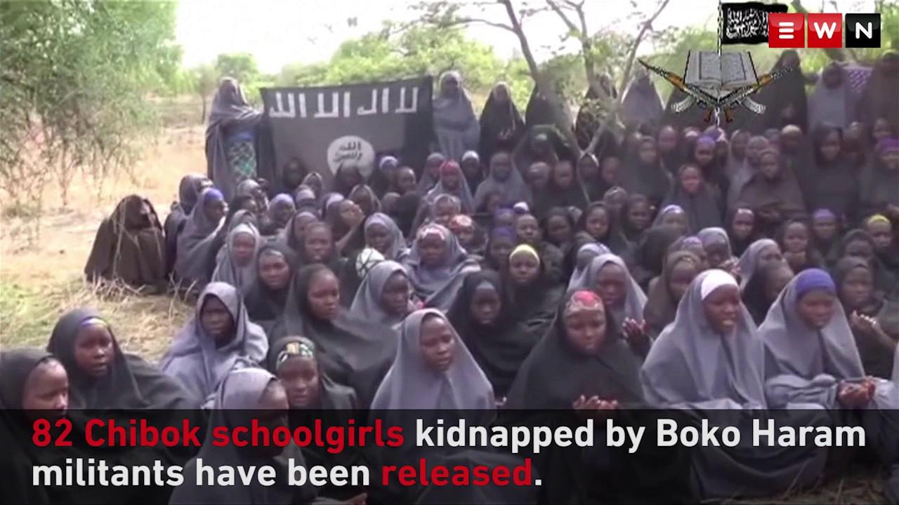 Download 82 Chibok schoolgirls released