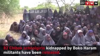 82 Chibok schoolgirls released