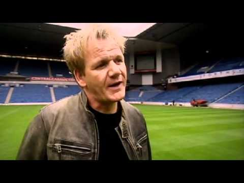 Ramsay meets up with Ally McCoist as he returns to Glasgow Rangers - Gordon Ramsay