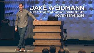 Guest Speaker Jake Weidmann