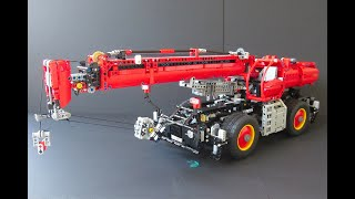 Lego Technic Rough terrain crane | What 42082 could have been