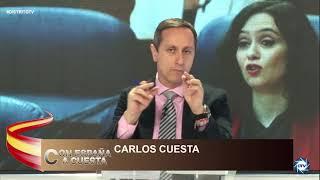 CARLOS CUESTA: SÁNCHEZ a perdido la conexión con la gente, no se da cuenta que ya no tiene TIEMPO