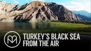 Turkey's Black Sea Mountains from the Air