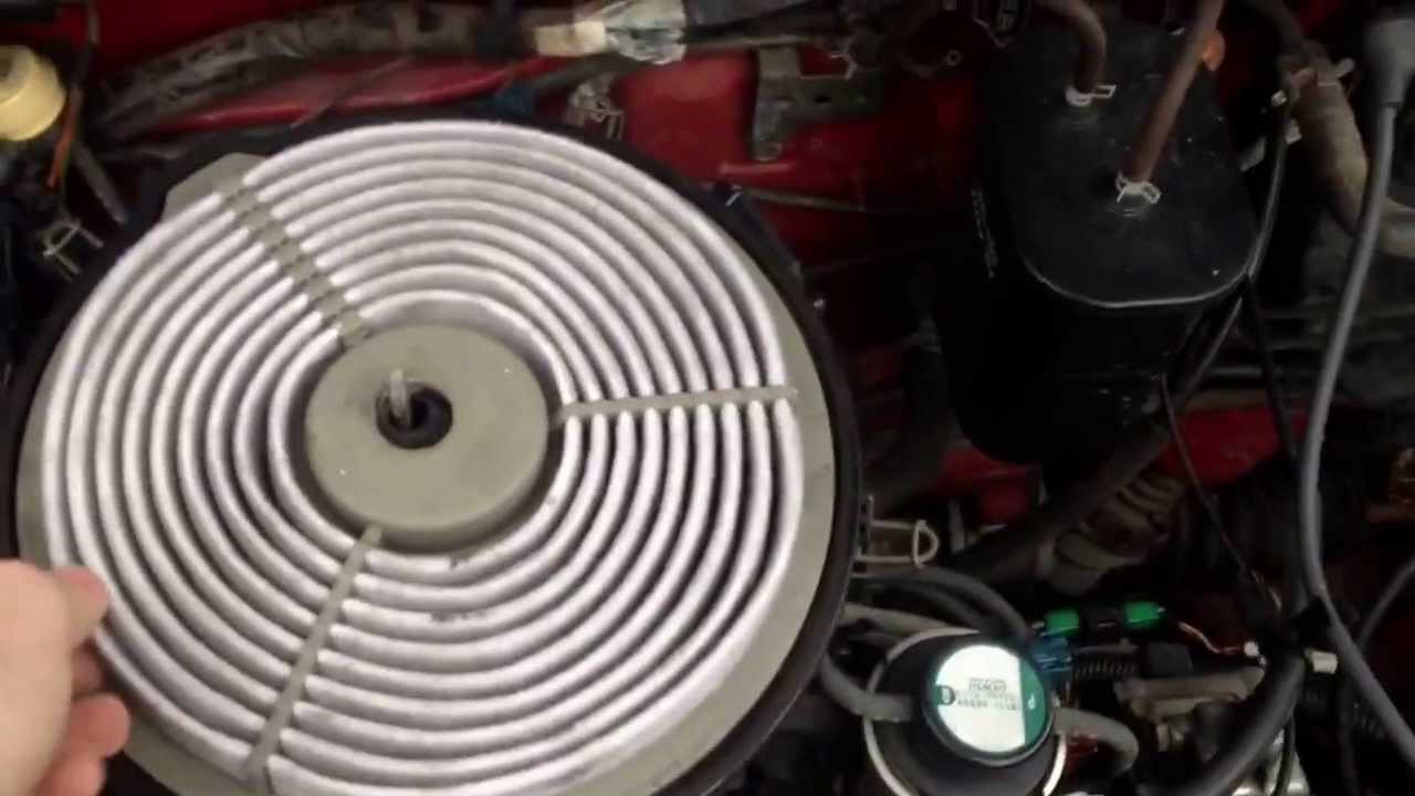 1996 Geo Metro Fuel Filter Wiring Diagrams 94 Tracker Changing The Air In A 1995 2000 Youtube Rh Com Filters Location Pump