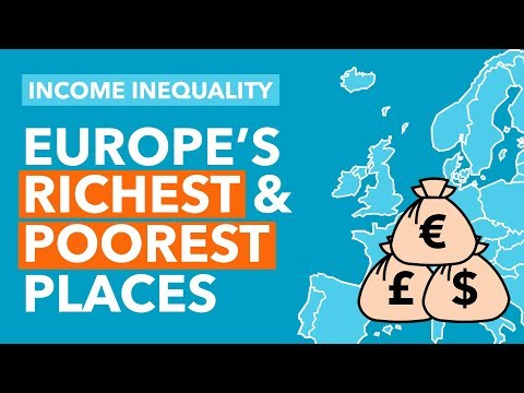 Europe's Top 10 Richest and Poorest Places - Data Dive