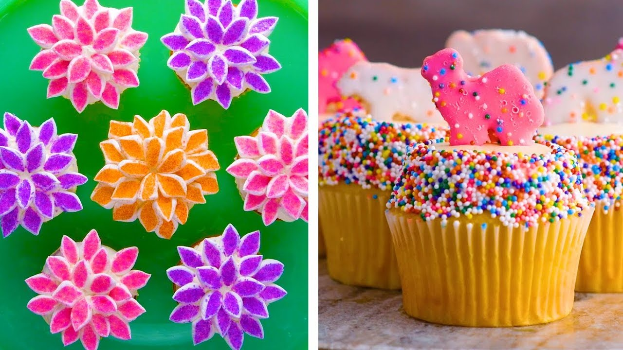 12 Amazing Cupcake Decorating Hacks To Make You Look Like A Pro Dessert Recipe Ideas By So Yummy Youtube