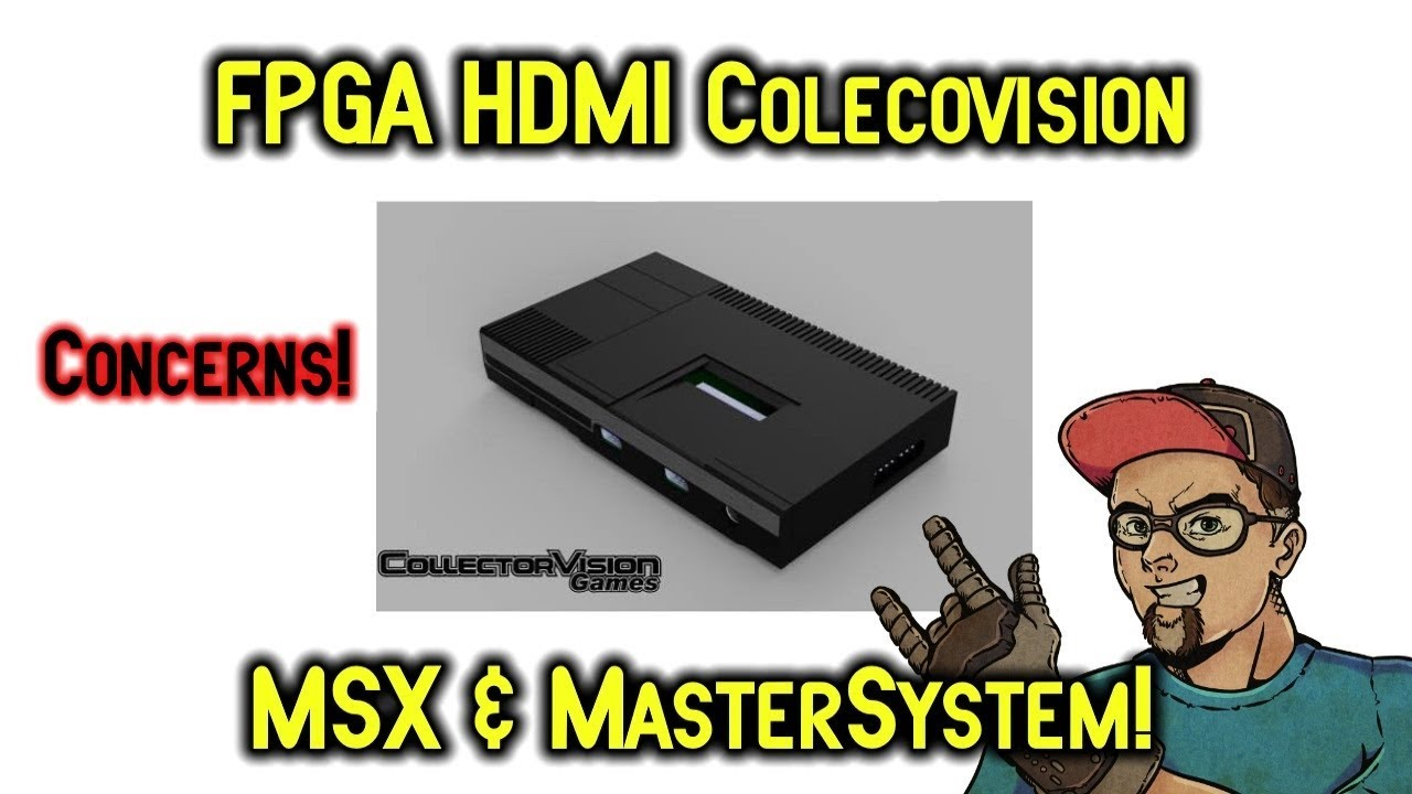 Collectorvision HD FPGA Coleco MSX Sega Master System - Will It Be a