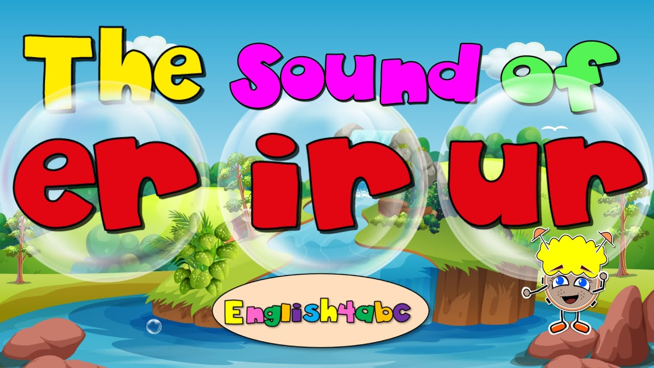 hight resolution of Bossy 'r'/ Controlling 'r' / Long Vowel 'ur/ir/er' - Phonics Song - YouTube