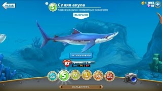 Hungry Shark World - Купил синюю акулу