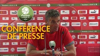 Conférence de presse Nîmes Olympique - Gazélec FC Ajaccio ( 4-0 )  / 2017-18
