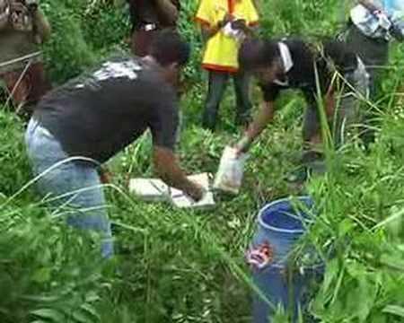 12 Kg Daun Ganja Tak Bertuan Diamankan Brimobda Riau II