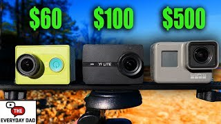 Yi vs GoPro!  Can a $60 Camera stand up to a $500 Camera?