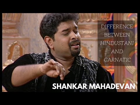 Shankar Mahadevan talks about Hindustani vs Carnatic Music (Knowledge Series - 4)