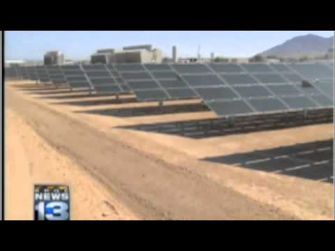 In New Mexico, PNM shows off solar generating site