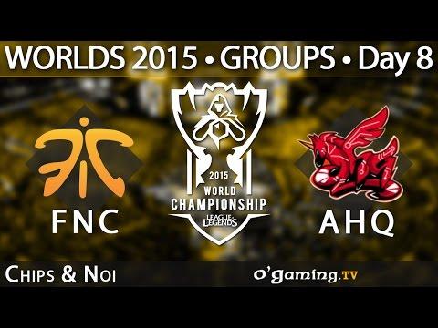 Fnatic vs ahq e-Sports Club - World Championship 2015 - Phase de groupes - 11/10/15 Game 6