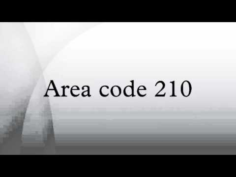 Area code 210 YouTube